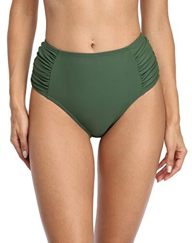 Image of ALove Solid Ruched Bikini...: Bestviewsreviews