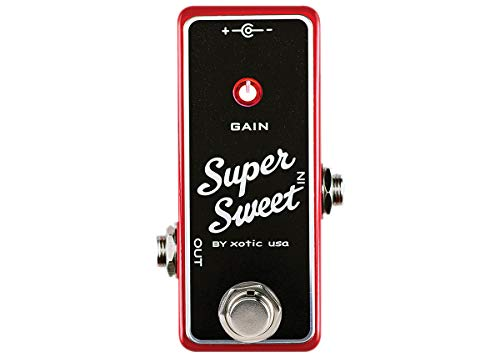 Xotic Super Sweet Booster Boost Pedal