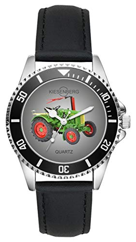 Geschenk für Dieselross Traktor Oldtimer Fans Fahrer Kiesenberg Uhr L-2666