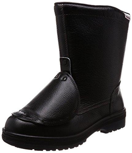 [ミドリ安全] 安全靴 JIS規格 甲プロテクタ付き 半長靴 ラバーテック RT940 甲プロ ブラック 25.5 cm 3E