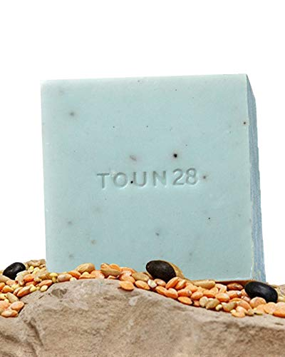 Organic Dish Wash Bar (1pc, Charcoal & Oats S27) - Natural Vegan Soap That Washes Plates, Fruits and Vegetables