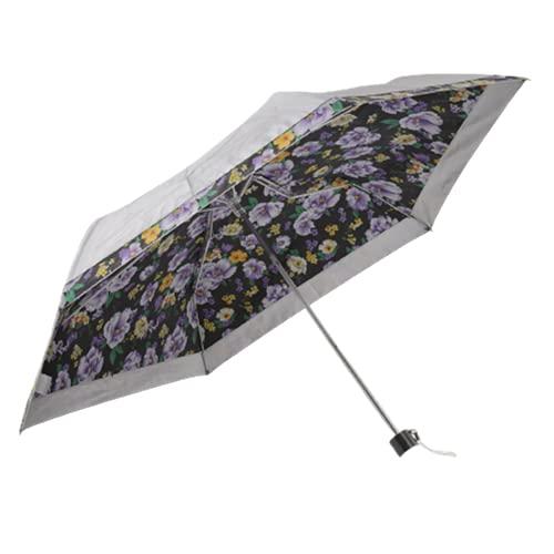 haruju 日傘 折りたたみ傘 晴雨兼用 UVカット 遮光 遮熱 軽量 花柄 1