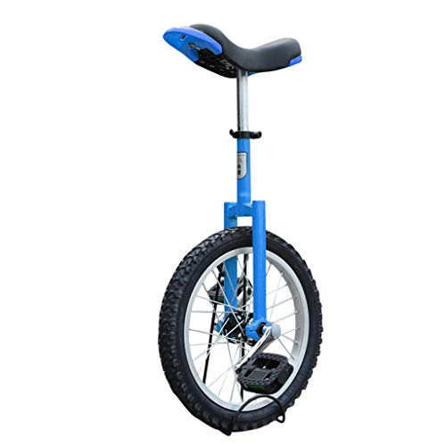 Astonishing Bright Orange 16' Mountain Bike Wheel Frame Unicycle Cycling Bike With Comfortable Release Saddle Seat, Unicycle Bicycle Unicycle For Child And Adult Junior High-Strength Steel