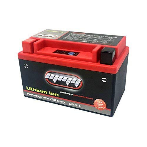 MMG YTZ10S Z10S Lithium Ion Sealed High Performance Powersports Battery 12V 300 CCA, No Spills, Fully Charged and Activated, Ready to Use (MMG4)