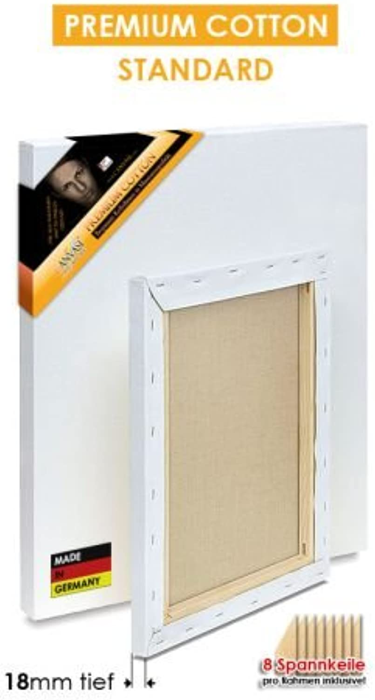 PREMIUM COTTON COTTON COTTON - STANDARD - Bespannte Keilrahmen Größe 180x270cm  B01BNWI0ZA | Online Store  1b2df1