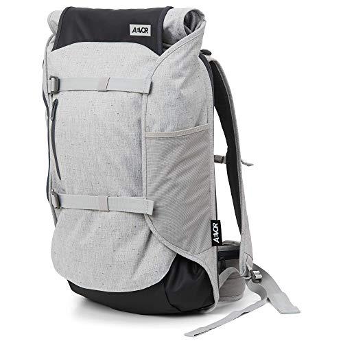 AEVOR Travel Pack - Handgepäck Rucksack, erweiterbar, ergonomisch, Rolltop System - Bichrome Steam