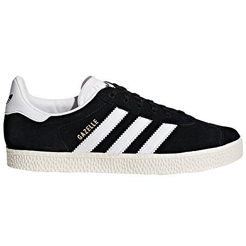 adidas Gazelle Schwarz. Größe 38 EU. Sneaker Damen. Trainer, Low-Top, Tennis (37 EU, Core Black/Footwear White)