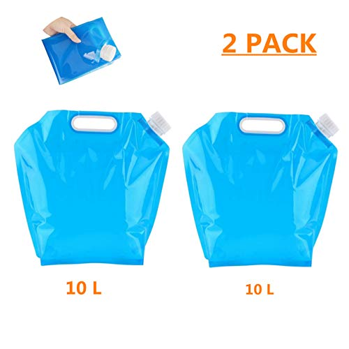 BianchiPatricia 20L Folding Drinking Water Bag Camping Hiking Water Storage Container