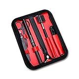 Kit de herramientas profesionales para modelar cejas para hombre | Lápices, afeitadoras y herramientas de recortadora con diseño seguro y científico
