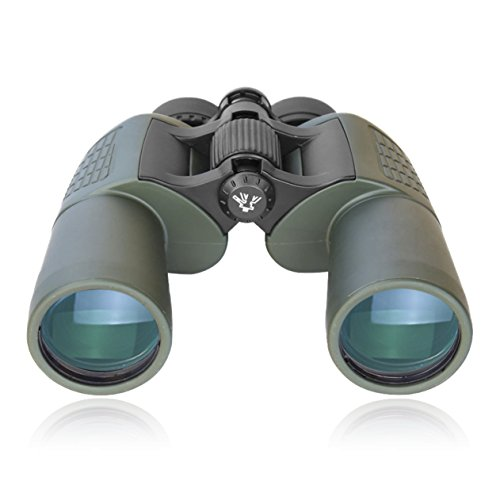 TecTecTec BPRO2 Jumelles 10x50 - Très Fort grossissement et Champ de Vision Ultra Large - Quantité de lumière maximale