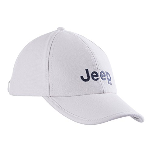 Jeep–Gorro Tapa J8S Hombre Modelo Castro Cabeza, Gorra de béisbol, Primavera/Verano, Hombre, Color Light Grey/Vintage Indigo, tamaño Uni