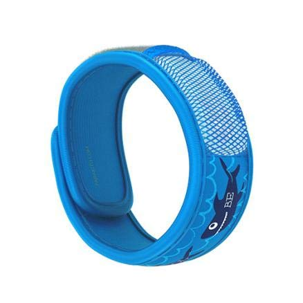 PARA'KITO Mosquito Insect & Bug Repellent Kids Wristband - Waterproof, Outdoor Pest Repeller Bracelet w/ Natural Essential Oils (Be Cool)
