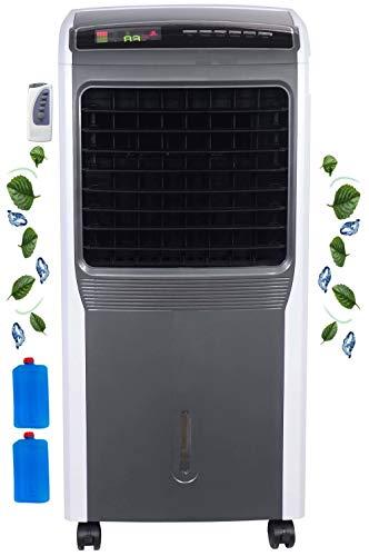 3in1 Aircooler | Mobile Klimaanlage | leiser Betrieb | Turmventilator | Mobiles Klimagerät | Luftreiniger | Ventilator | Luftkühler | Luftbefeuchtung | Standventilator | 8h Timer | Oszillierend