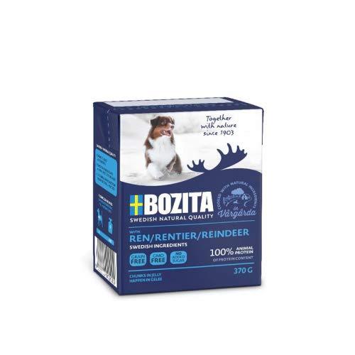 Bocita Naturals HiG rendier 370 g Tetra Pack honden natvoer
