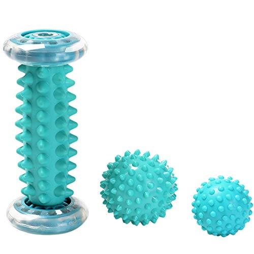 Best Price! Foot Massager Roller & Spiky Balls - Muscle Roller Stick for Plantar Fasciitis - Wrists ...