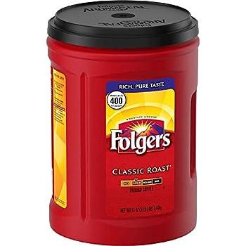 Folgers Coffee Classic Medium  Roast 48 Ounce 6 Pack