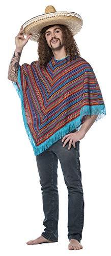 L3302090 - Poncho mexicano para hombre