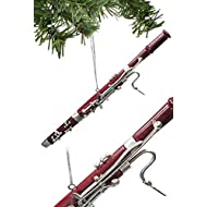 """Broadway Gifts 6.25"""" Bassoon Ornament"""