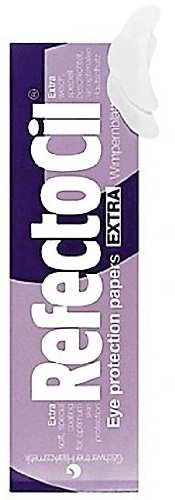 RefectoCil Wimpernblättchen Extra, Schutz vor Anfärbung beim Wimpernfärben, 80 Blatt