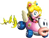 6 Inch Princess Peach Super Mario Kart Wii Bros Brothers Removable Wall Decal Sticker Art Nintendo 64 SNES Home Kids Room Decor Decoration - 6 1/2 by 5 inches