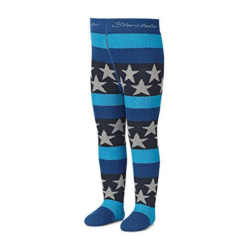 Sterntaler - jongens panty Thermo panty met sterren, middenblauw - 8721700mb