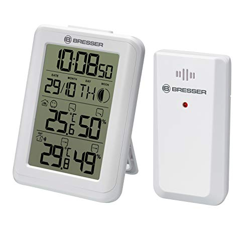 Bresser MyClimate Thermo- / Hygrometer, Weiss