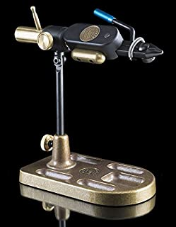 Regal Revolution with Trad Jaw and Bronze Pocket Base in Rustic Pine Tying Vise