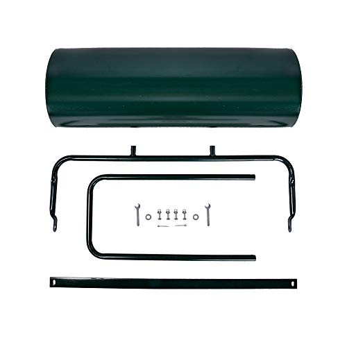 Kapler Lawn Roller Tow Behind Water Filled Push Pull Roller for Garden 63L
