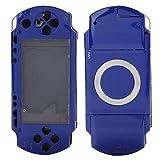 Richer-R ソニー PSP1000用ゲームシェル 交換用シェル 保護シェル 修理用ケースカバー PC素材 SONY PSP 1000コンソールに対応(ブルー)