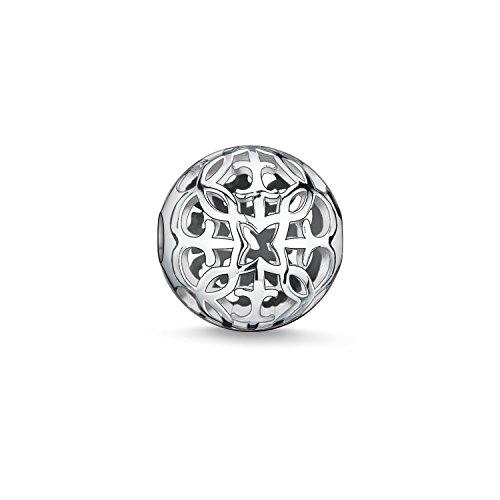 Thomas Sabo Damen Herren-Bead Arabeske Karma Beads 925 Sterling Silber K0052-001-12