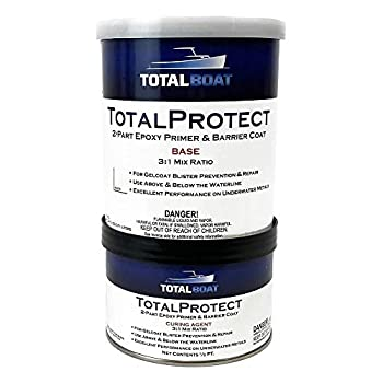 TotalBoat TotalProtect Epoxy Barrier Coat System  White Quart