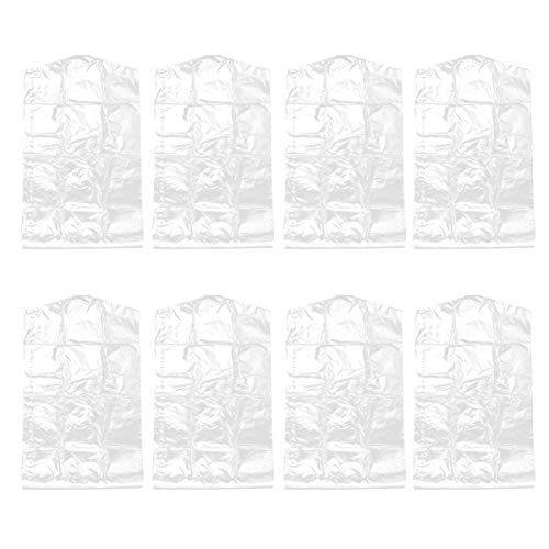 Hemoton 30 Piezas Bolsas de Tintorería de Plástico Transparente Ropa Traje Cubre Prendas de Vestir...