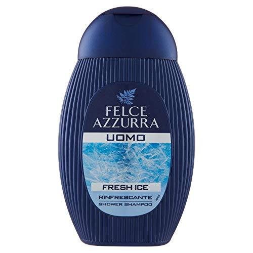 Felce Azzurra Man Duschgel Fresh Ice 2 in 1 - Duschgel mit Menthol für den frischen Duft - 1er Pack (1x 250 ml)