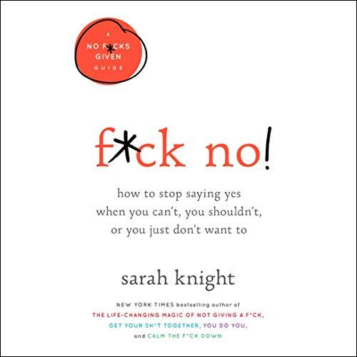 F*ck No! audiobook cover art
