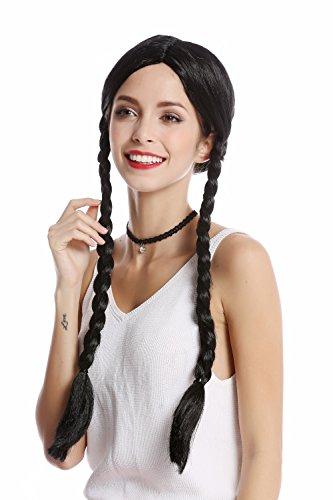 WIG ME UP - Perücken & Haarteile für Erwachsene in Schwarz (Za103), Größe **Erwachsene**