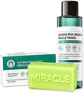 Ifactory SomeByMi Aha.Bha.Pha 30Days Miracle Toner 150ml (5oz) + Cleansing Bar Soap 106g (3.7oz) Set
