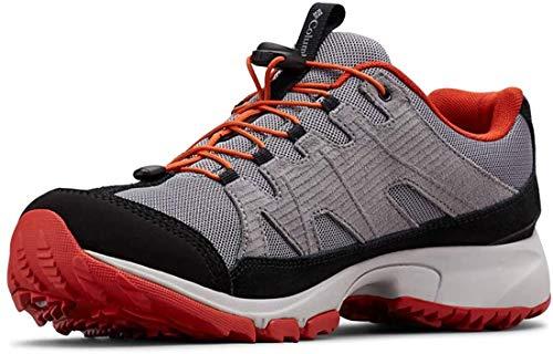 Columbia Five Forks WP, Chaussures de Randonnée Imperméables Homme, Gris (Ti Grey Steel,), 44 EU