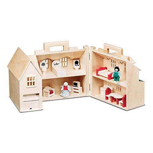 Product Image of the Melissa & Doug Fold & Go Dollhouse