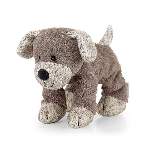 Sterntaler 3001961 Spieltier Hund Hanno, Alter: Für Babys ab der Geburt, 20 cm, Braun