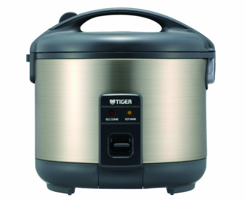 Tiger JNP-S10U-HU 5.5-Cup (Uncooked) Rice Cooker and Warmer, Stainless...