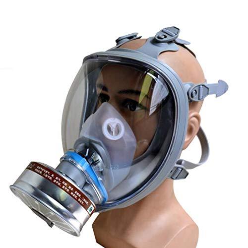 SHENXX Protección Respiratoria De Máscara Completa, Puede Equiparse con Una Variedad De Botes, Antigás, Especiales para La Protección De La Seguridad Pública,D