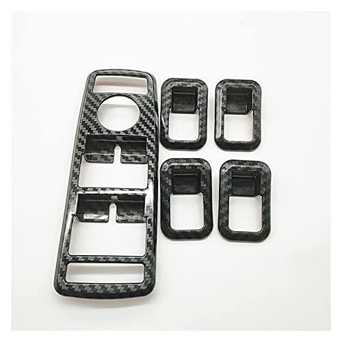 ZHANGHUA Coche Interior Ventana Gafas Levantamiento Botón Cubierta Interruptor Encienda Fit para Mercedes Benz W204 A B C E GLA CLALA GLK GLE Clase W176 W212 (Color Name : 1 Set)