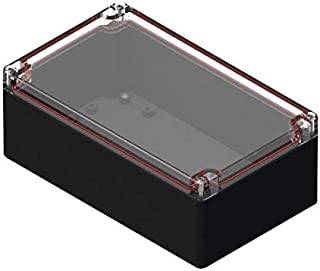 Junction Box 40.4 mm 120 mm Polycarbonate RB53P06C10C Watertight 80.1 mm Pack of 2 RB53P06C10C IP67 Plastic Enclosure