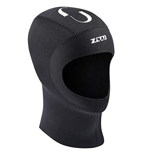 Ethic 5mm Capucha de Buceo con Capucha de Neopreno Gorra de Neopreno Unisex Gorra de protección contra Rayos Ultravioleta Protección contra el esnórquel para Nadar Buceo Surf Deportes submarinos