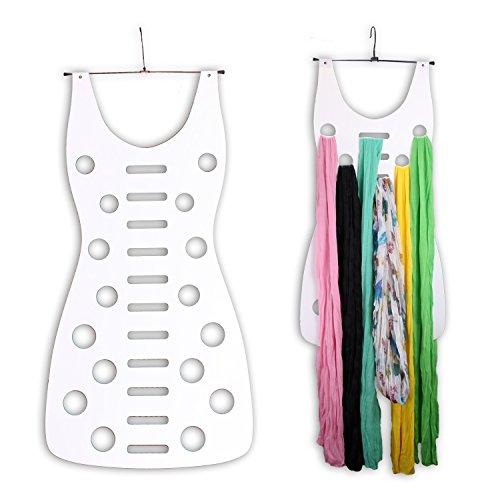 WOP ART 'sciarpa fatti a mano sul manico Mademoiselle per l' armadio in bianco