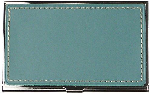 スリップオン ブラスカードケース TS BT 革 スカイ INL-2510