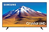 "Samsung TV TU7090 Smart TV 65"", Crystal UHD 4K, Wi-Fi, Black, 2020"