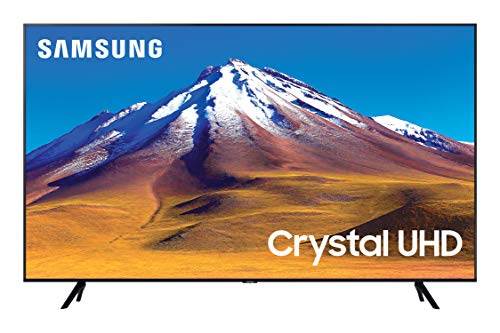 "Samsung TV TU7090 Smart TV 55"", Crystal UHD 4K, Wi-Fi, Black, 2020, compatibile con Alexa"
