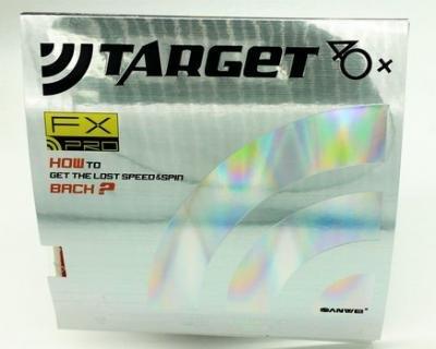 Sale!! SANWEI Target PRO 40+ FX Table Tennis Rubber (Black Sponge), Black Color