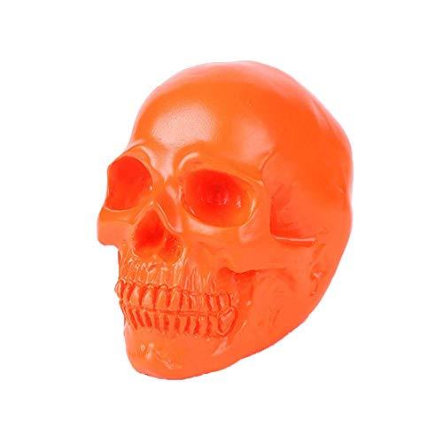 La decoración plástica cráneo Humano, Realista Personalidad Resina simulado cráneos de Modelo de Juguete Hecho a Mano for Ministerio de Ciencia Juguetes educativos WTZ012